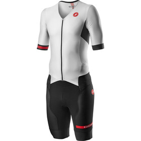 Castelli Free Sanremo 2 SS Suit Men white/black